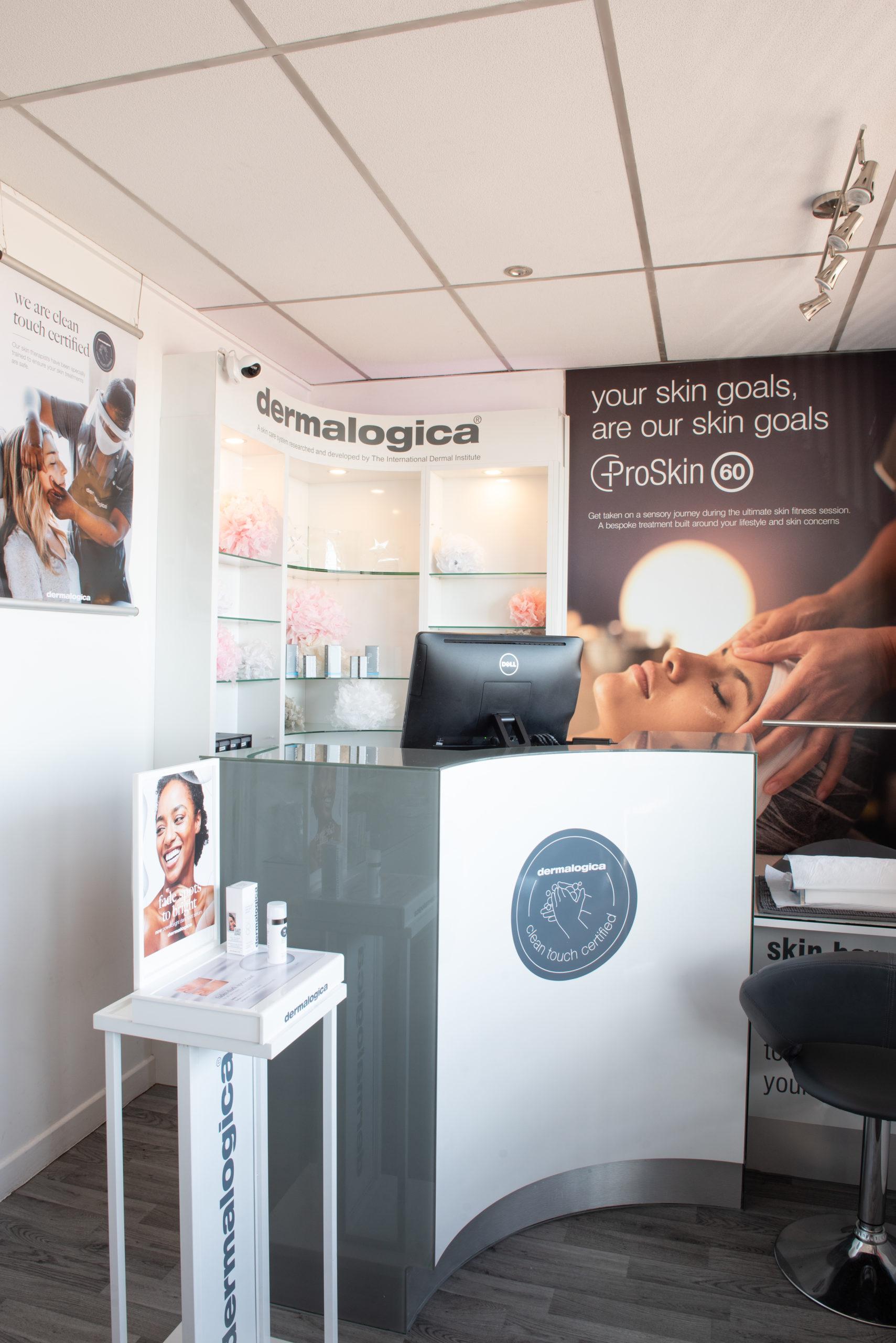 Moira salon skincare therapist team