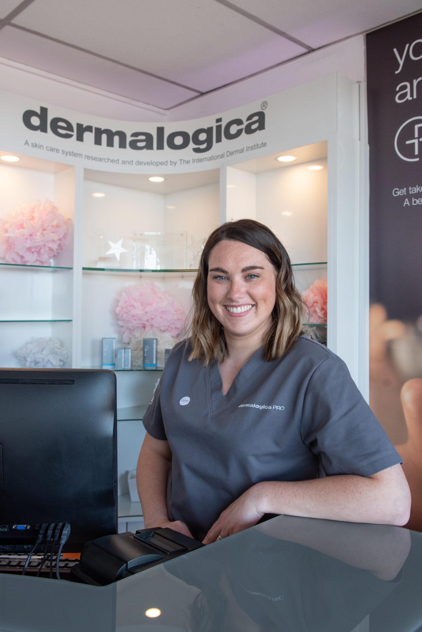 Professional skincare therapist moira